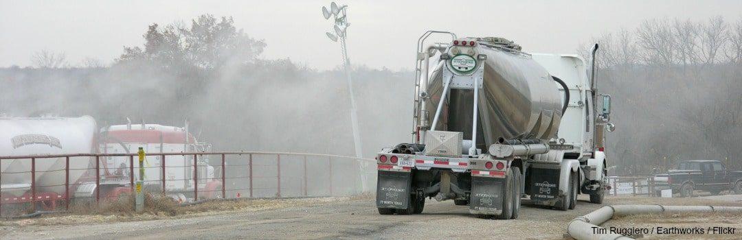 Fracking's Water Impact