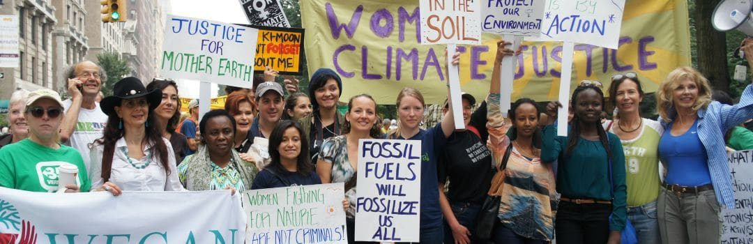 Women's Leadership Vital to Climate Action