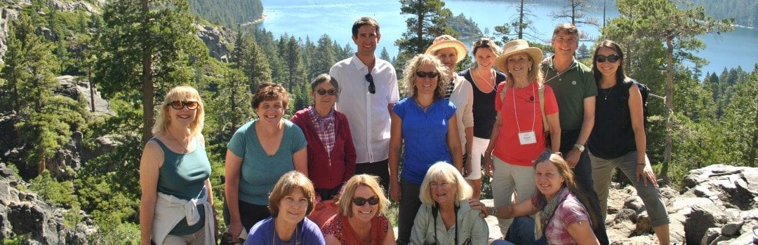 Rachel's Network Visits Lake Tahoe