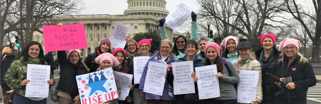 Carrying Rachel Carson's Spirit at the Women's March