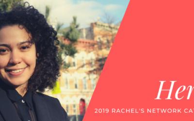 Climate Champion Annel Hernandez Wins Inaugural Rachel's Network Catalyst Award.