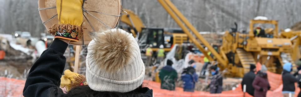 Supporting the Frontline Communities Fighting Line 3 in Minnesota